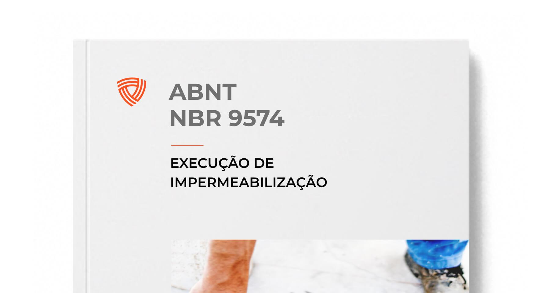 ABNT NBR 9574 - Execução de Impermeabilização