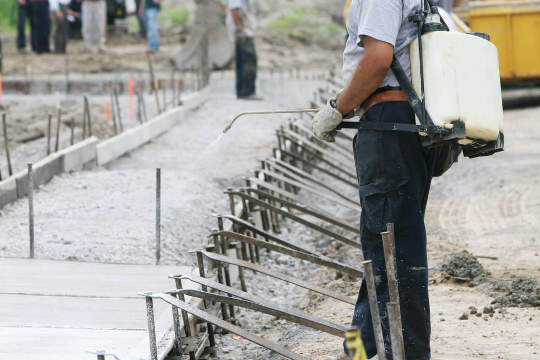 A importância da cura química para o concreto