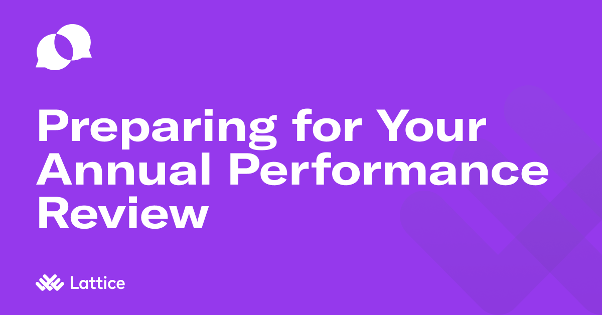 HR's Guide to Preparing for Your Annual Performance Review