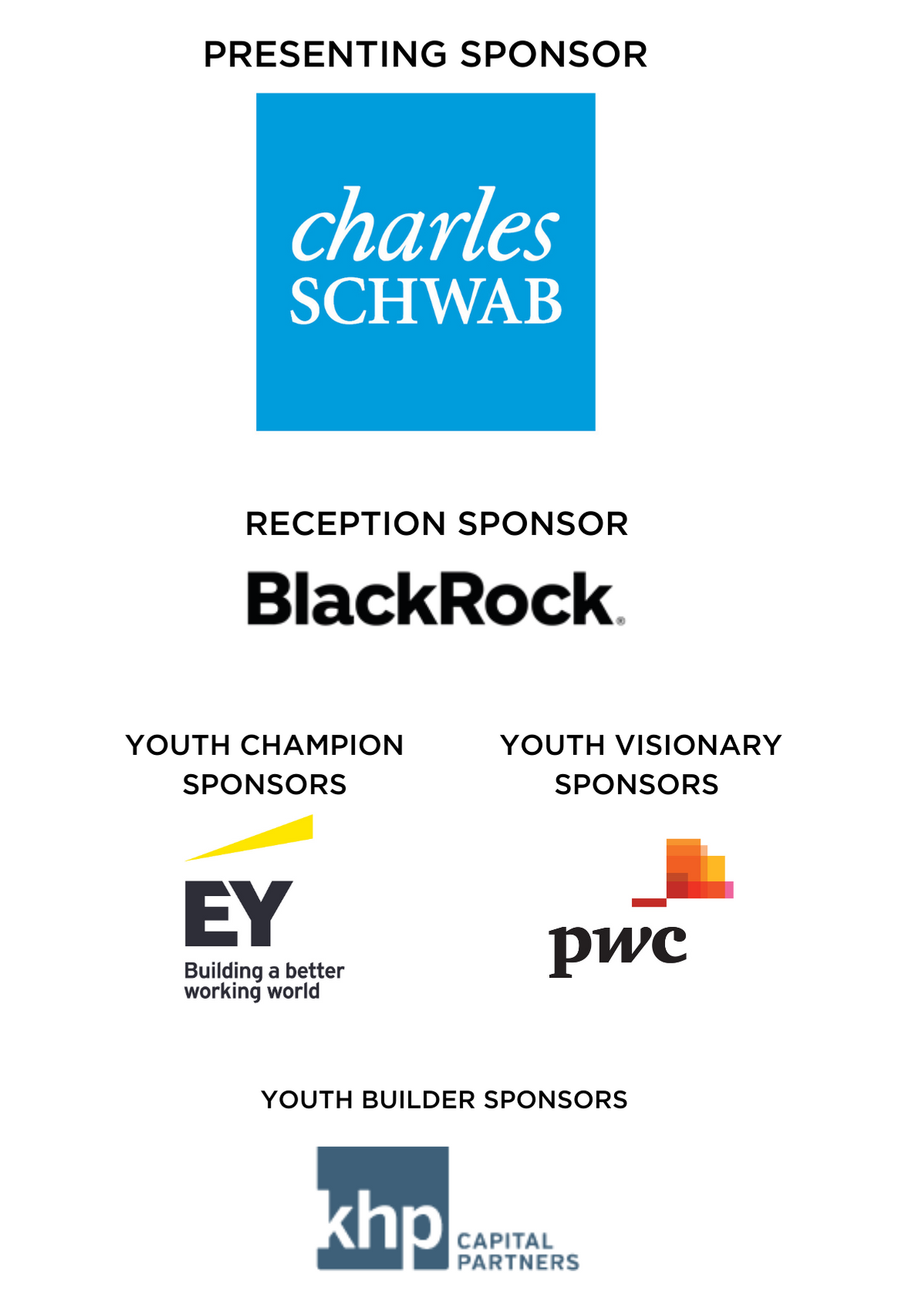 2021 Youth of the Year Sponsors