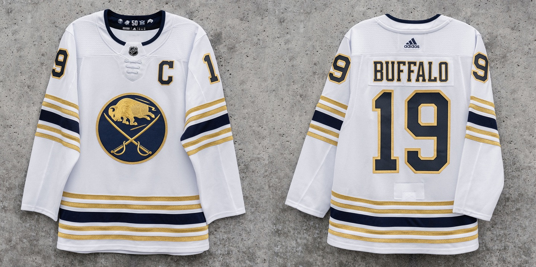 icethetics.com: Buffalo Sabres unveil 50th anniversary third jersey