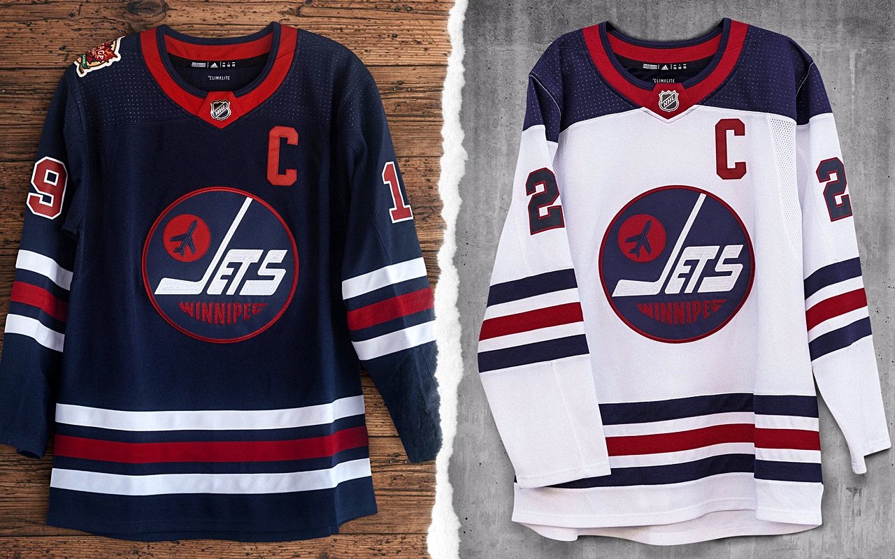 icethetics.com: Jets reveal retro jersey for 2019 Heritage Classic
