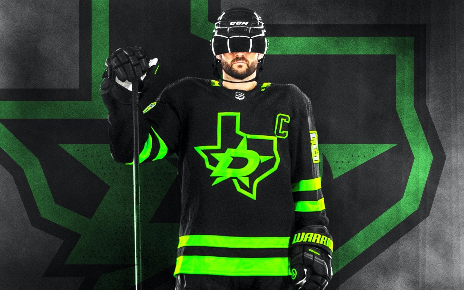 icethetics.com: Dallas Stars unveil 'Blackout' third jersey