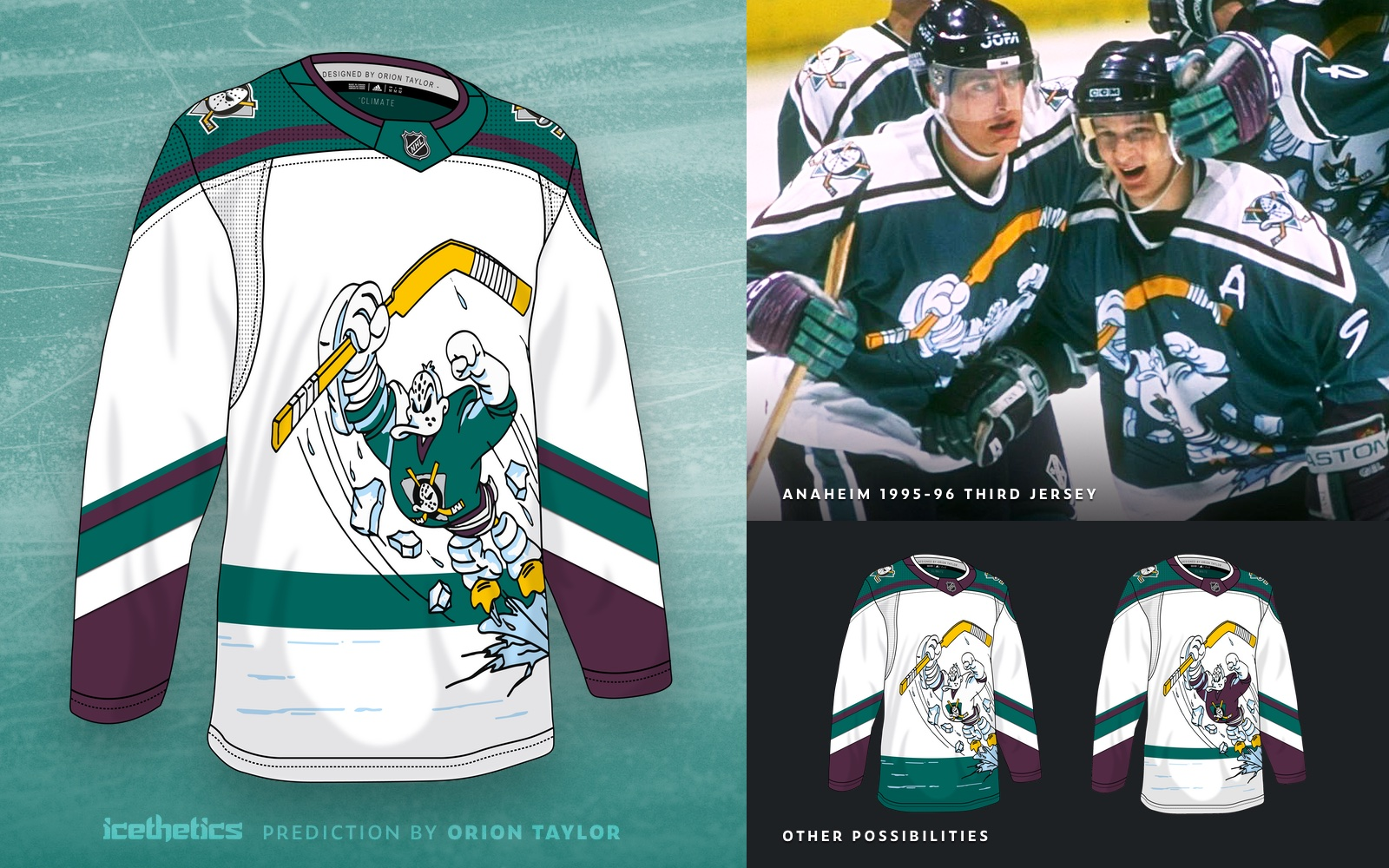 icethetics.com: Adidas teases Reverse Retros for Pacific Division