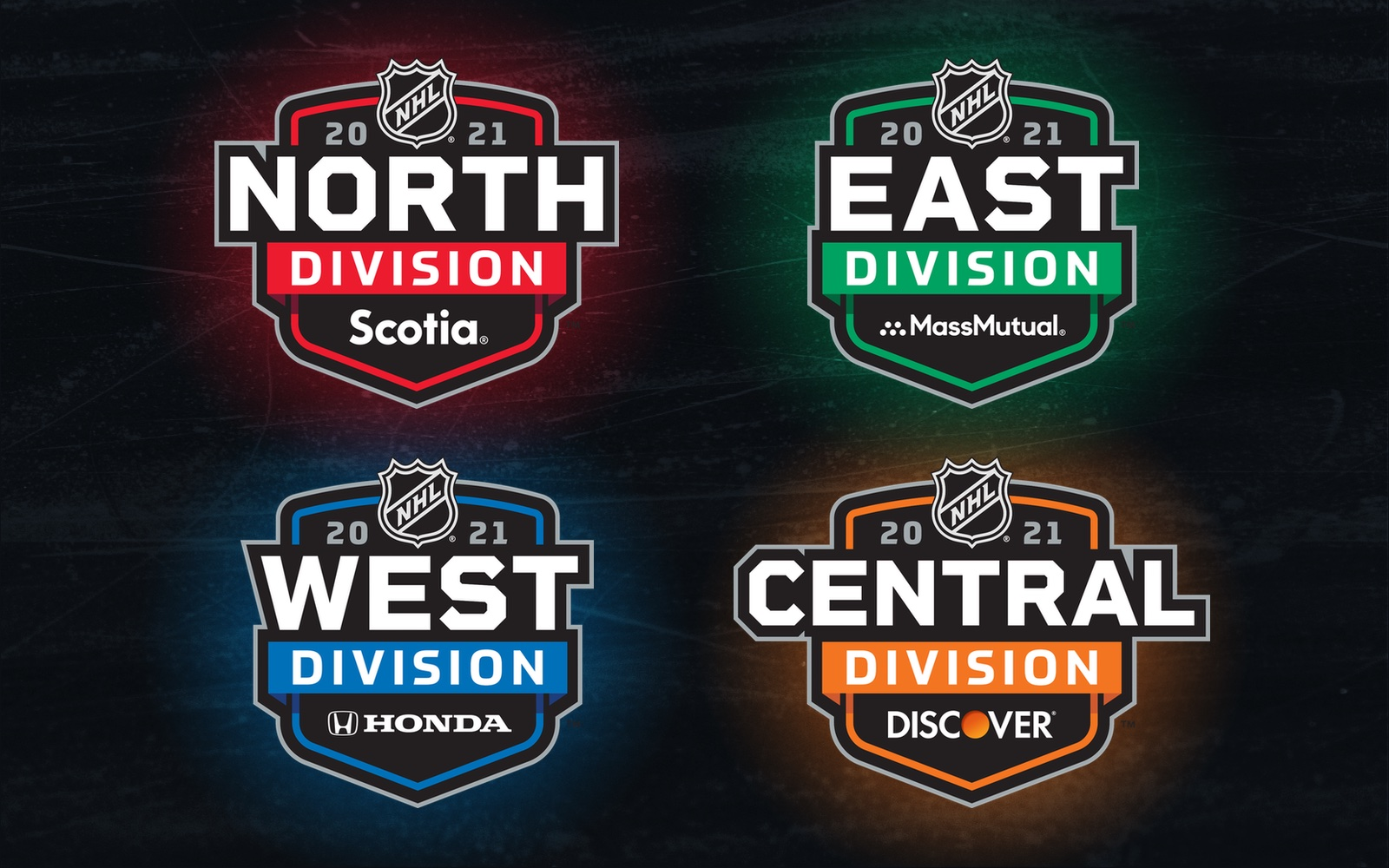 NHL reveals sponsored division logos for 2021