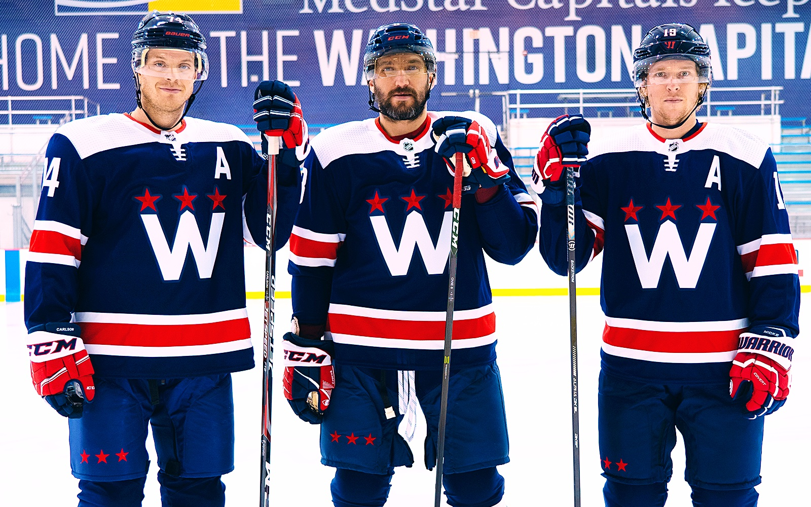 Capitals lean into navy blue with new third jersey reveal