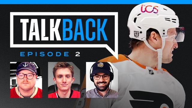 TALKBACK: NHL Helmet Ads & Anniversary Logos!