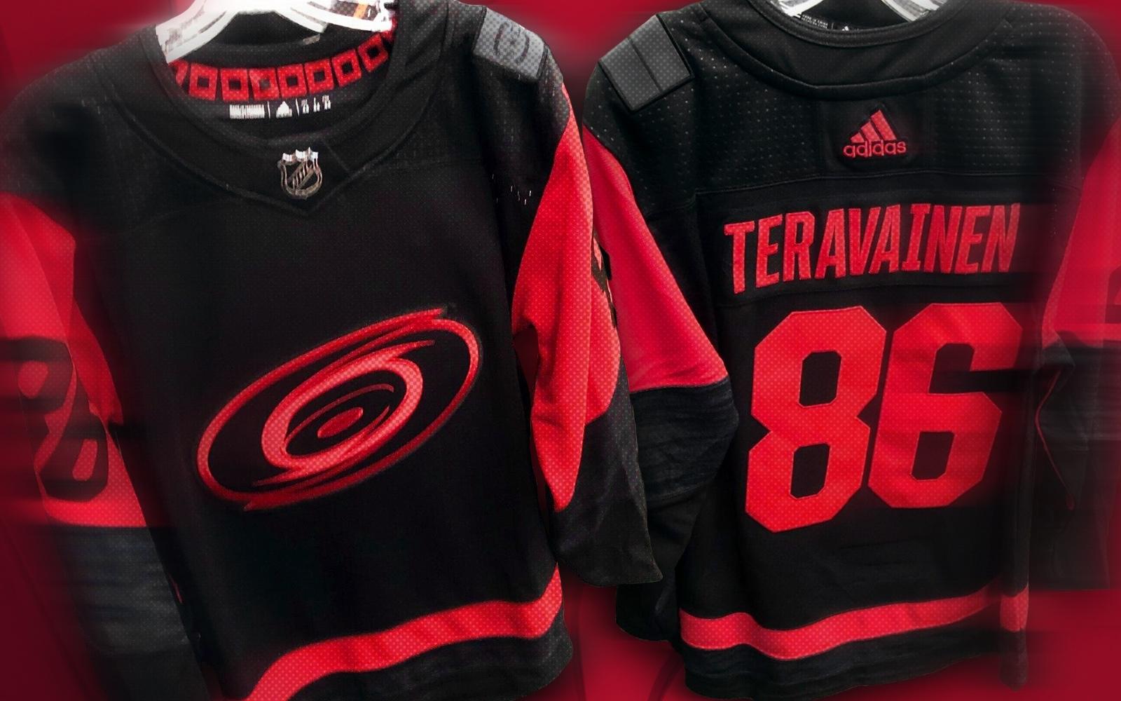 Leak reveals Stadium Series jersey for Hurricanes