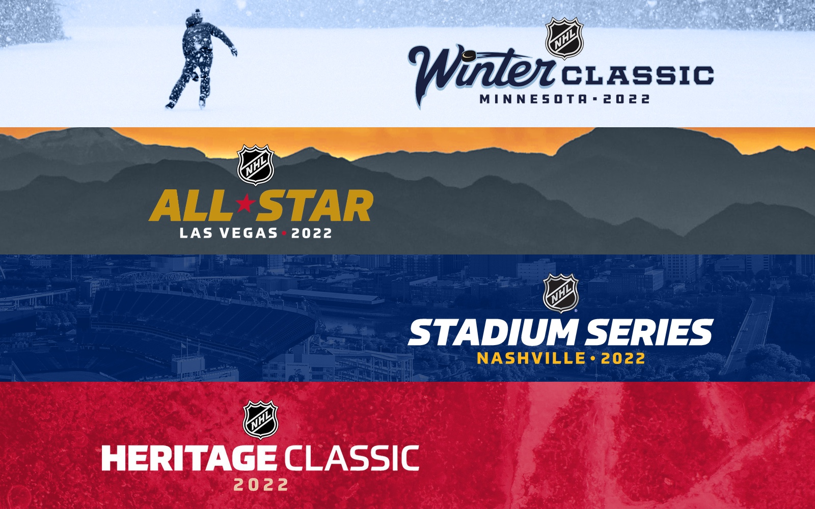 NHL announces slate of events for 2021-22