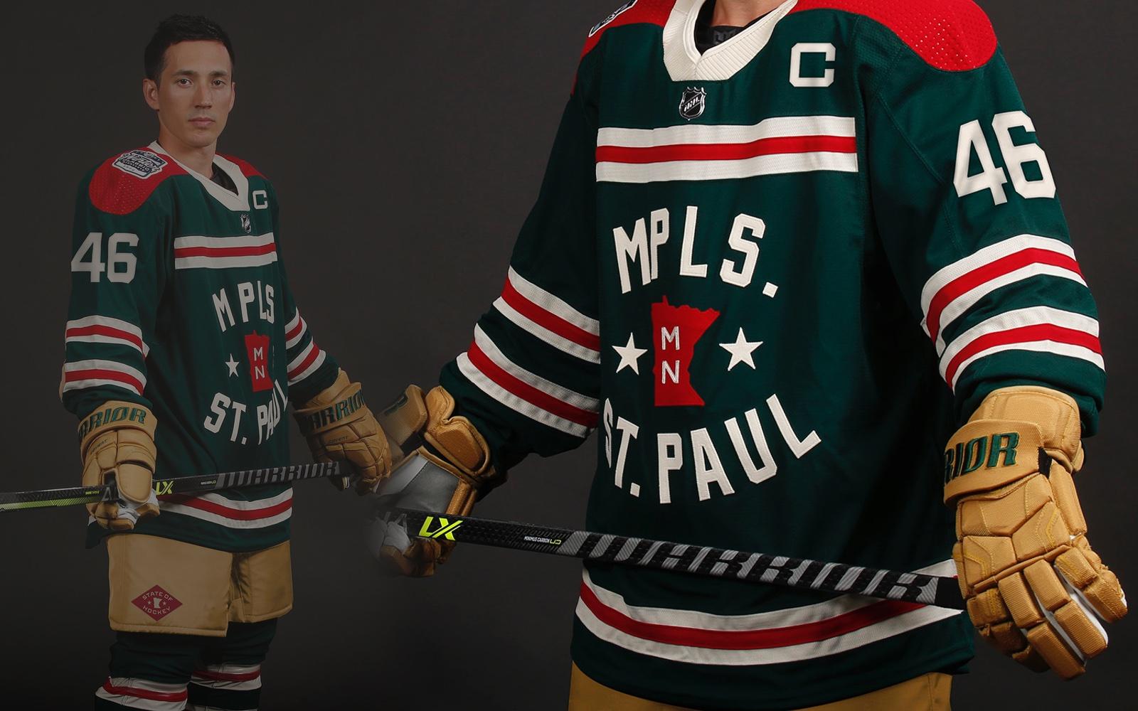 Minnesota Wild unveil 2022 Winter Classic sweater