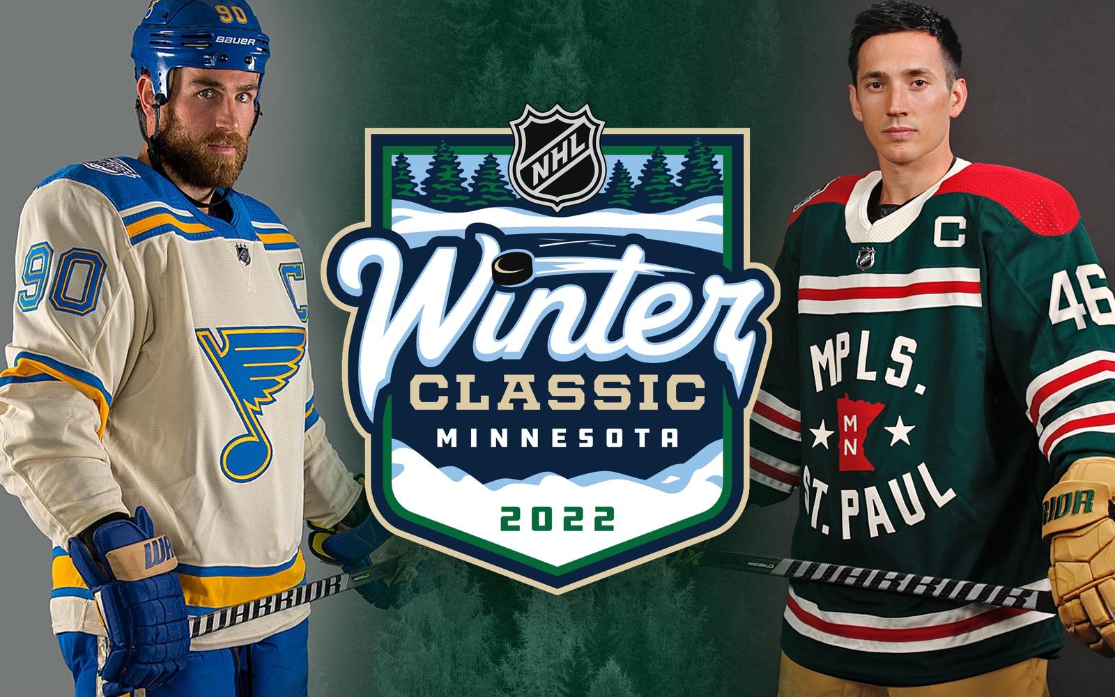 St. Louis Blues reveal 2022 Winter Classic uniform