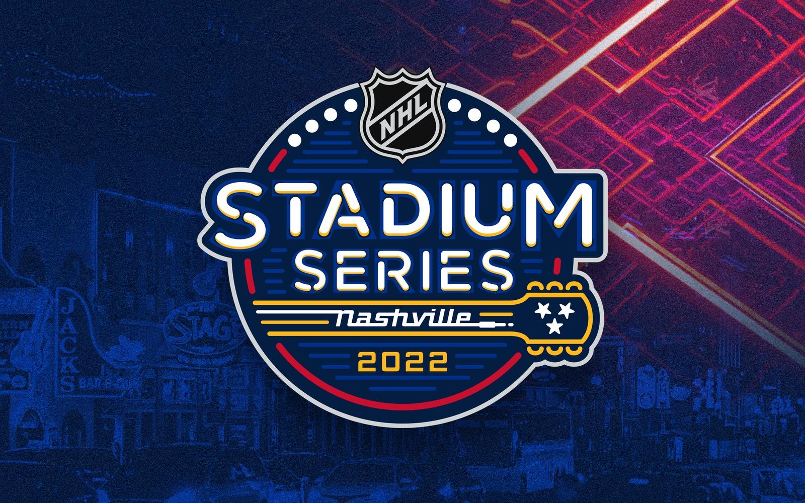 NHL releases 2022 Stadium Series logo