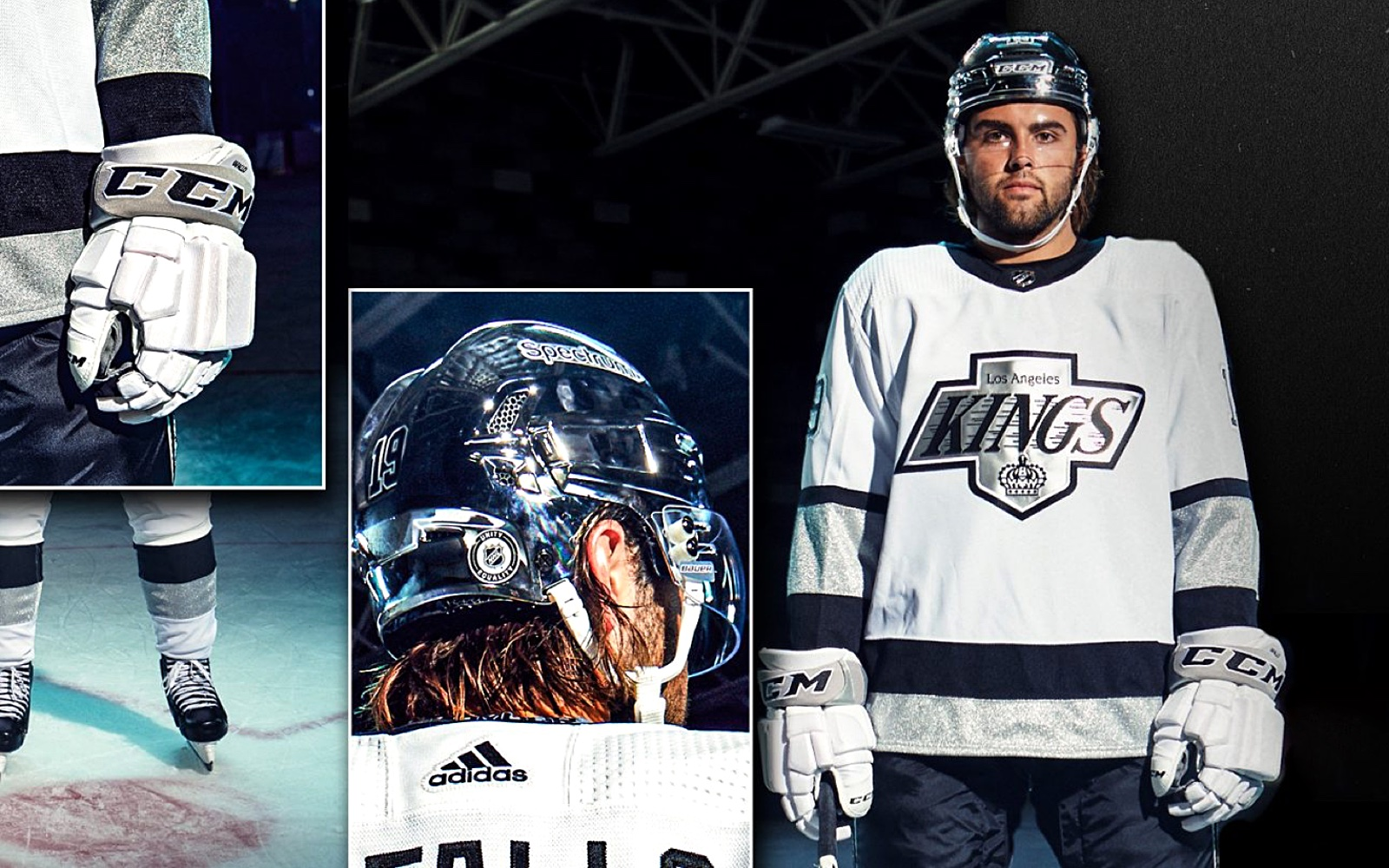 L.A. Kings reveal third jersey with retro feel