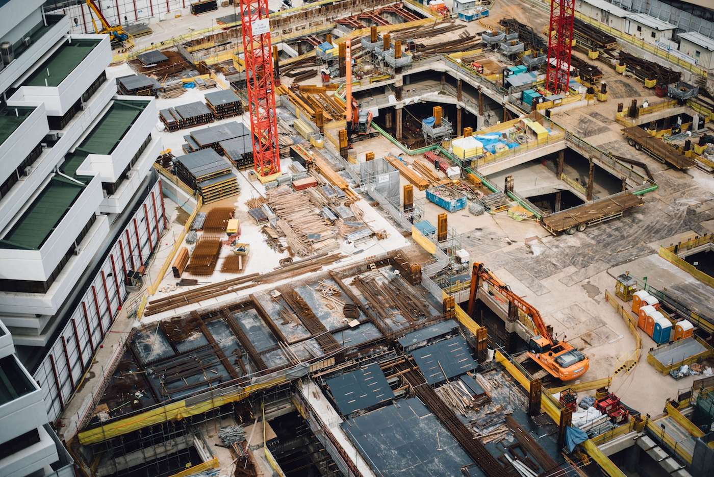 How technology is disrupting the construction industry