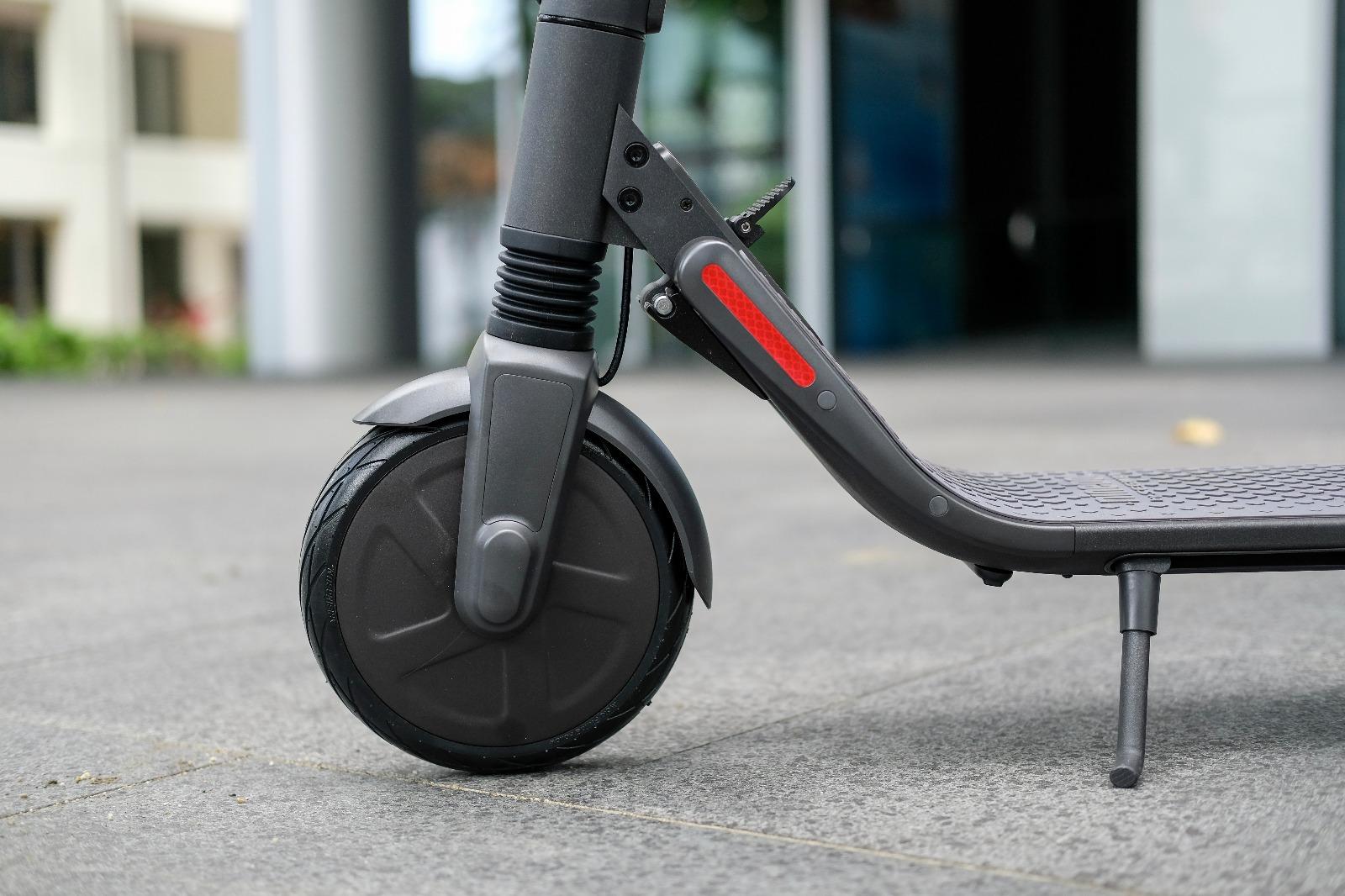Beam escooter wheel