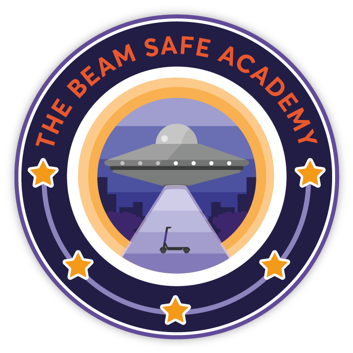 The beam safe academy emblem