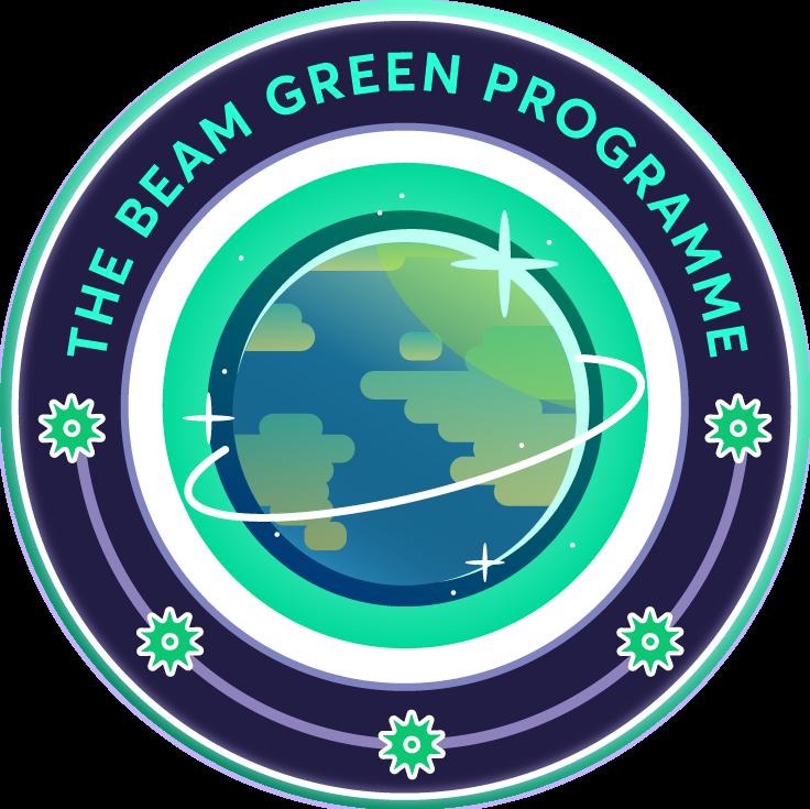 The Beam green programme emblem