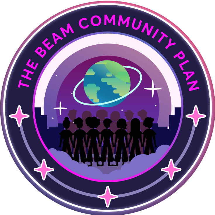 The Beam Community Plan Emblem