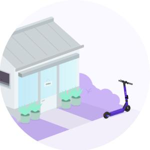 Beam escooter parking