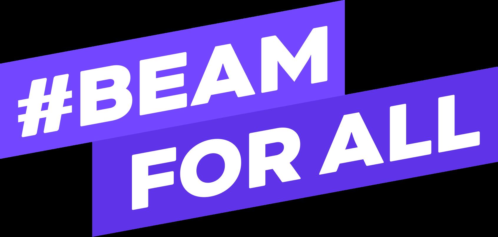 Beam for all logo