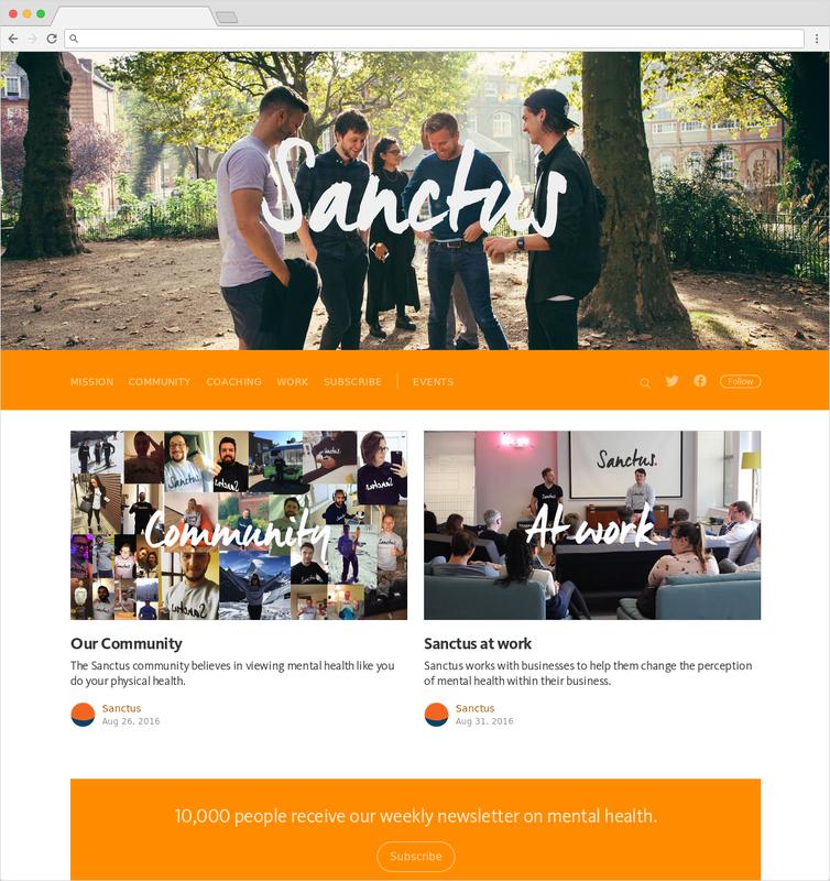 Sanctus website