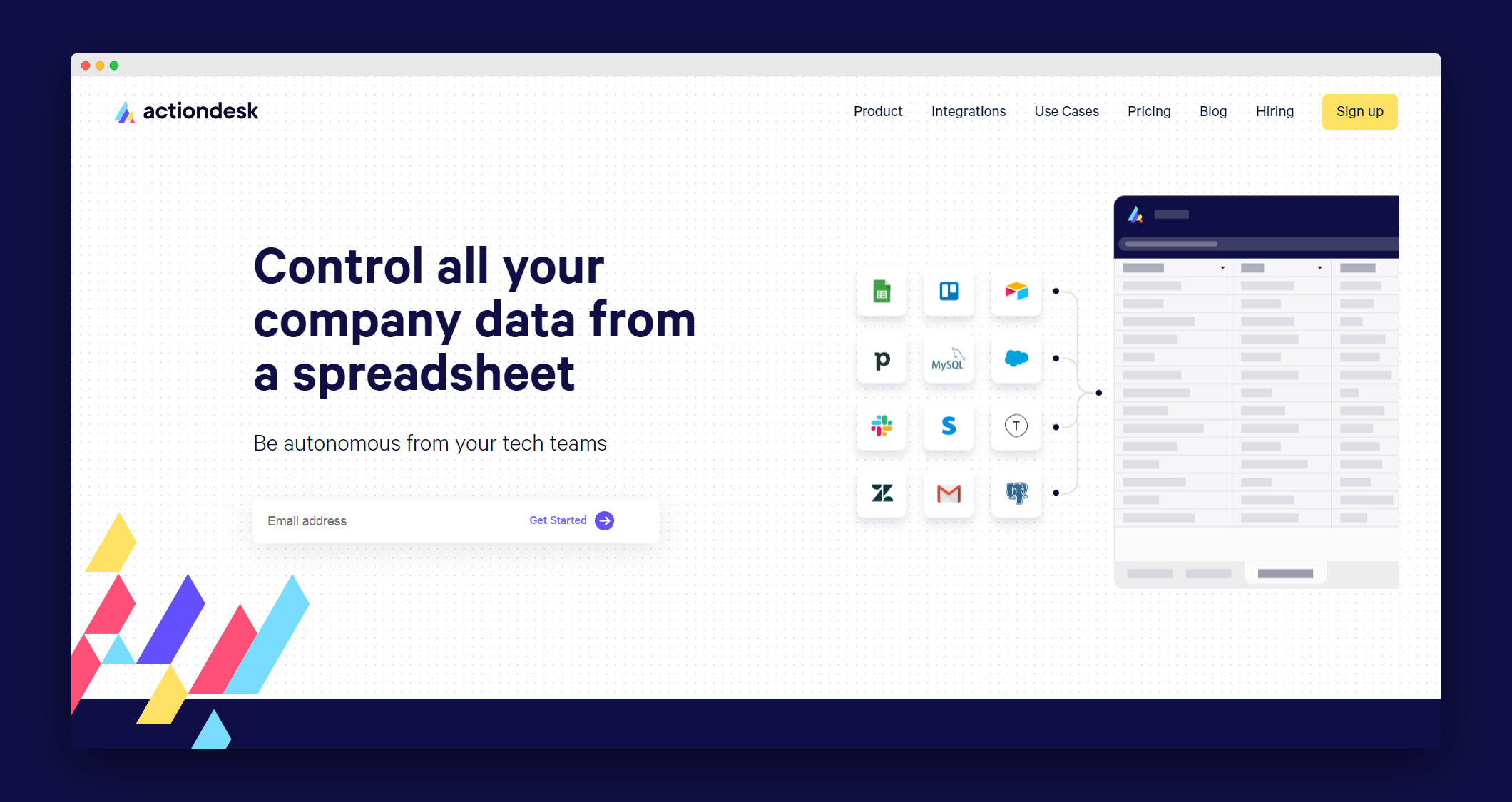 Actiondesk