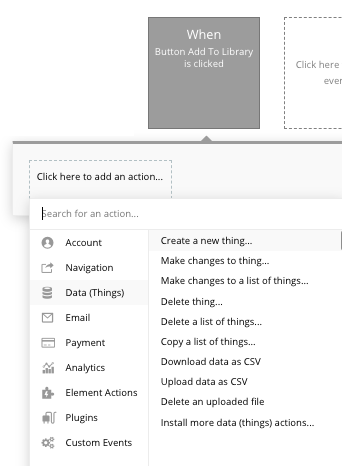 Bubble Netflix Library Workflow Walk Through