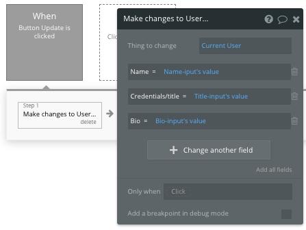 Bubble No Code User Workflow Tutorial