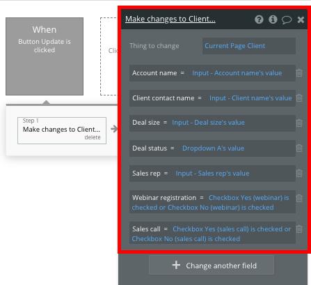 Bubble no code salesforce CRM clone tutorial walkthrough