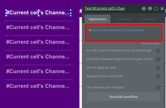 bubble no code slack clone tutorial walkthrough