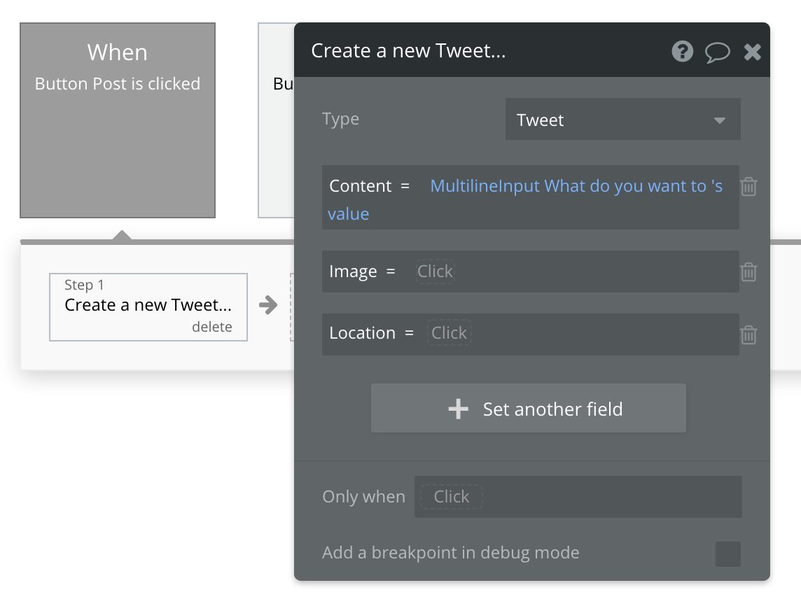 Bubble No Code Twitter Walkthrough Tutorial