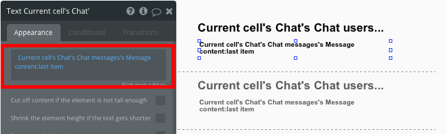 Display Last Message in Chat App Bubble Whatsapp Tutorial