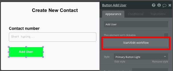 Bubble Workflow Walkthrough for Whatsapp clone chat app.