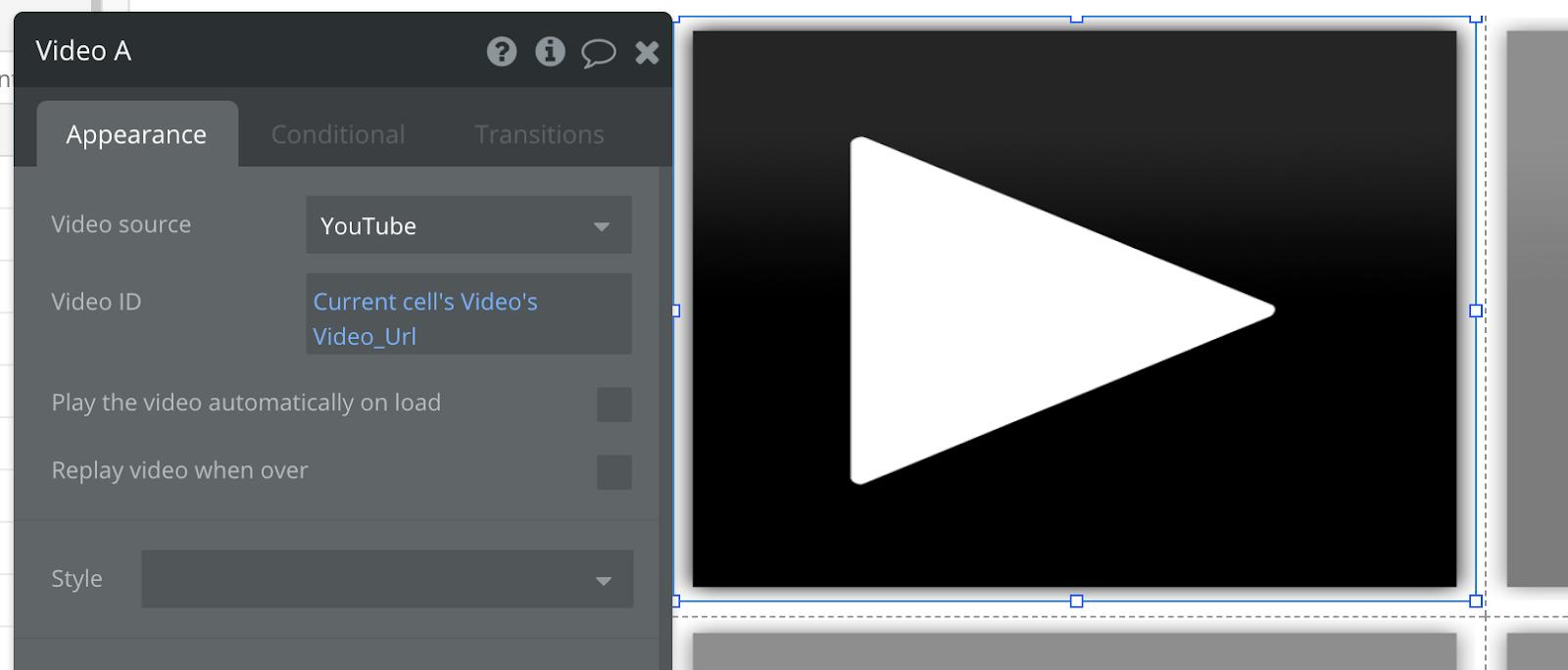 Bubble no code Youtube clone tutorial walkthrough
