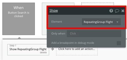 Bubble No Code Expedia clone walkthrough tutorial