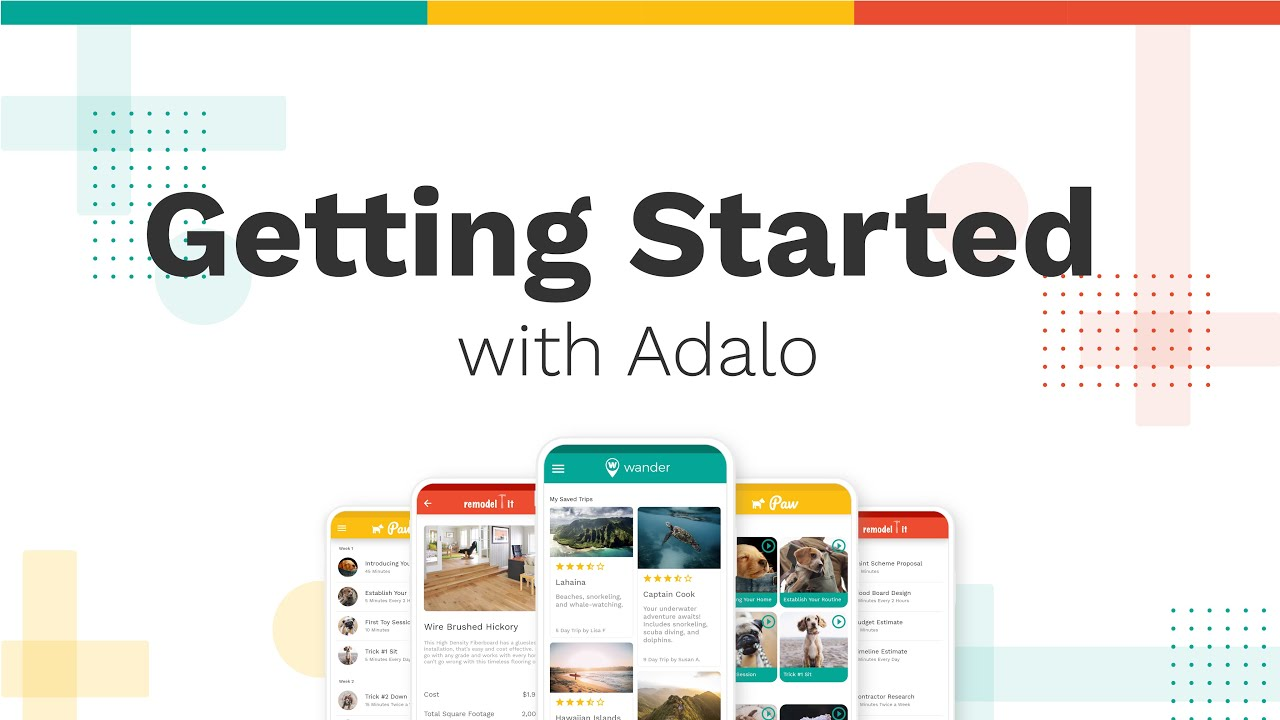 Building a Basic Mobile App with Adalo
