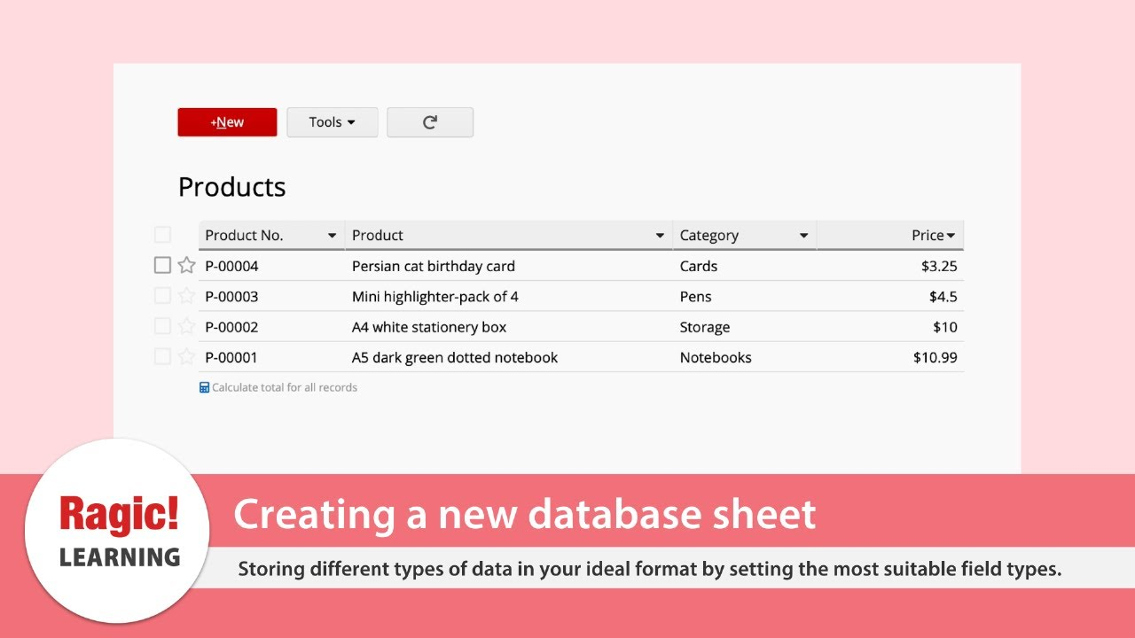 Getting Started With Ragic Databases