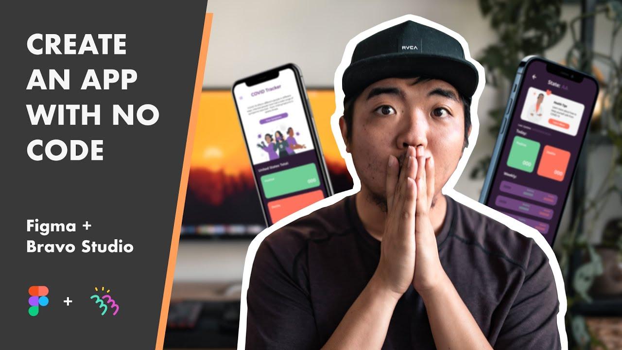How to Create an App with No Code using Figma + Bravo Studio