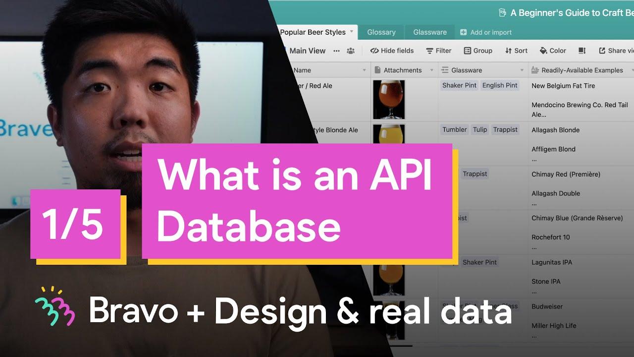 Powering a Bravo App with data