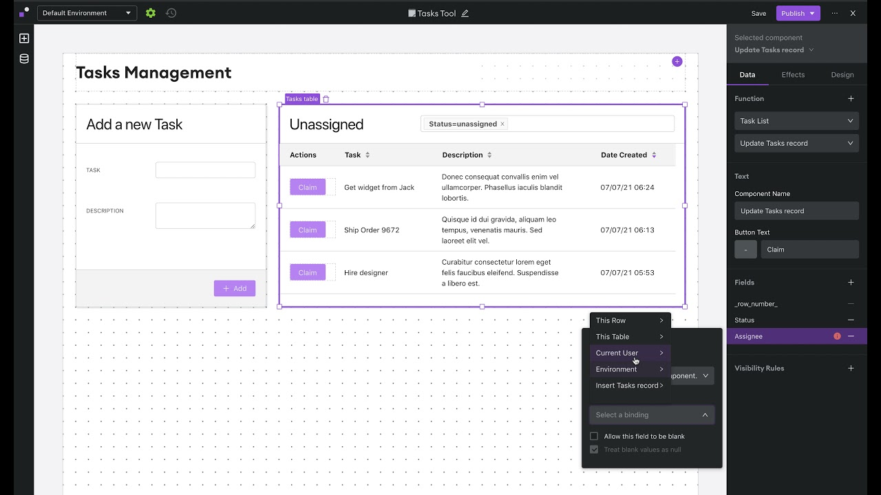 Build a Task Management Tool
