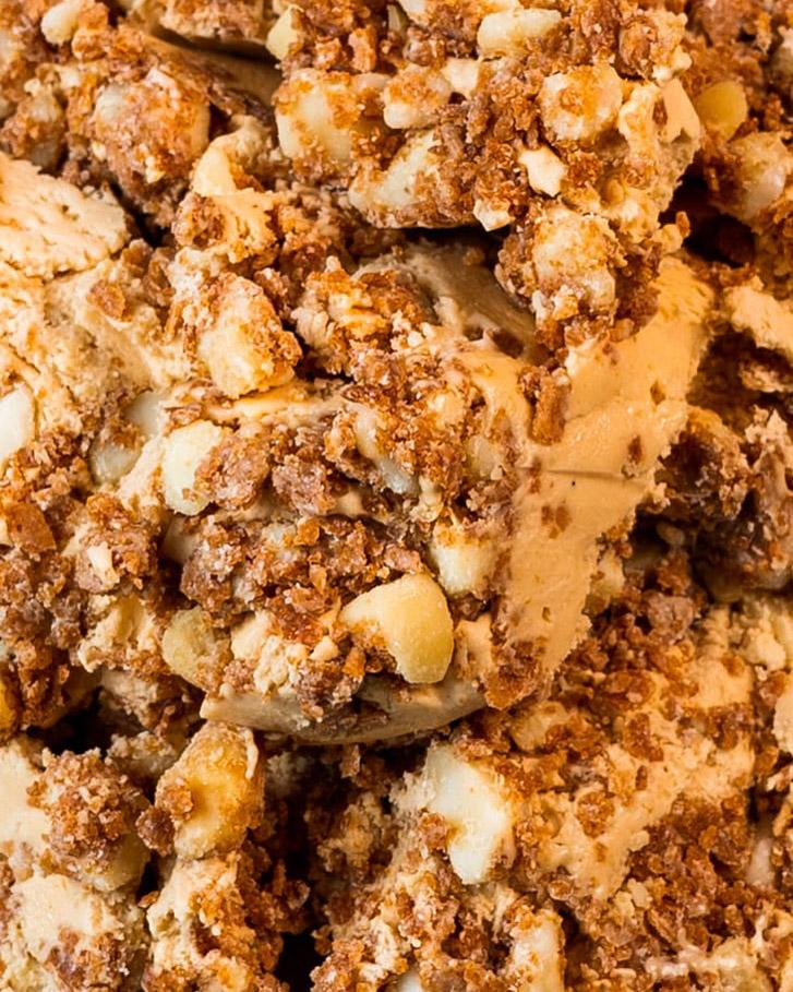 Messina's Macadamia Crunch Gelato