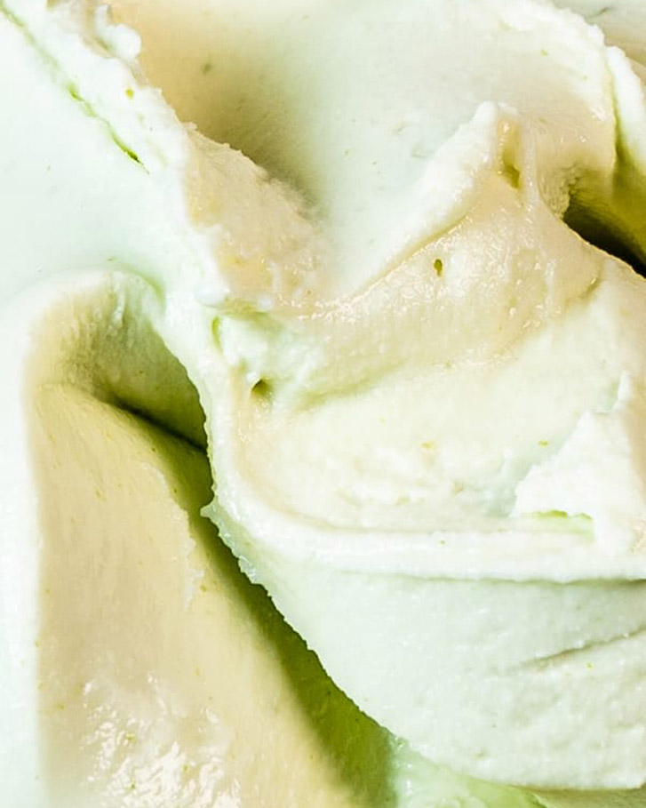 Messina's Pandan & Coconut Sorbet