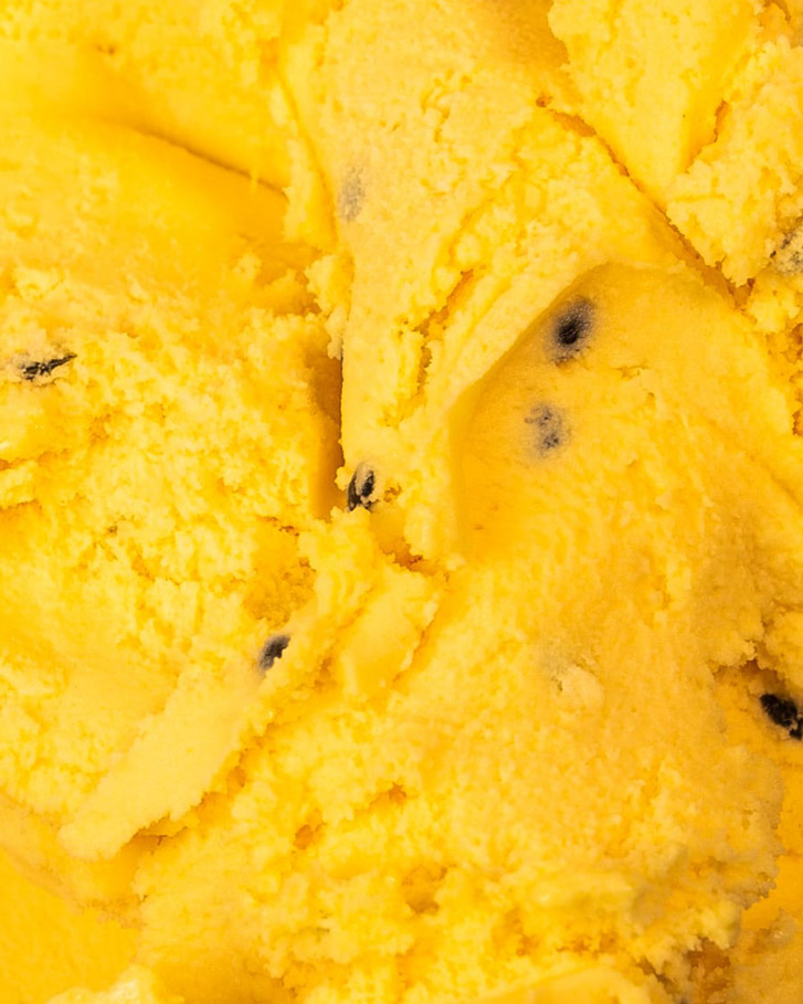 Messina's Passionfruit Sorbet