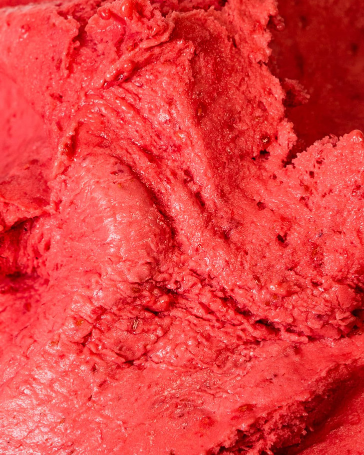 Messina's Raspberry Sorbet