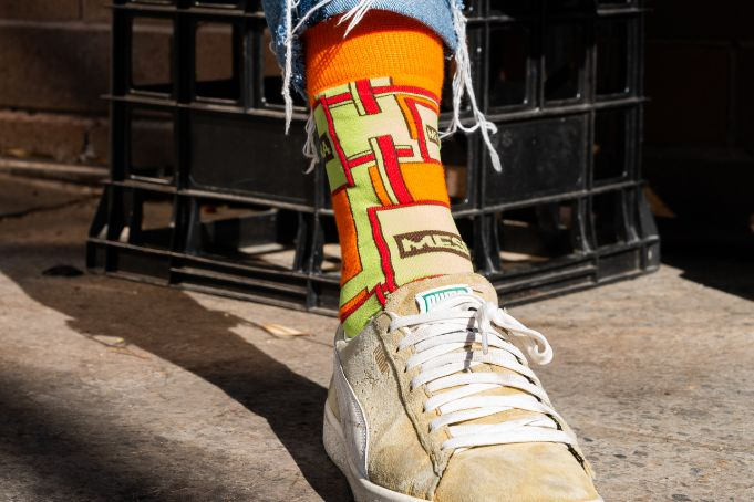 Gelato Messina Print Socks