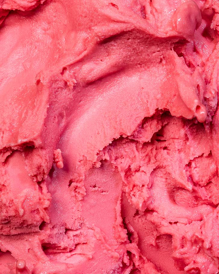 Messina's Blood Orange Sorbet