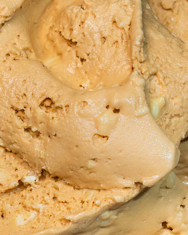 Messina's Salted Caramel & White Choc Gelato