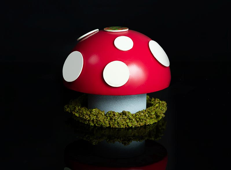Dr. Evil's Magic Mushroom Cake by Gelato Messina