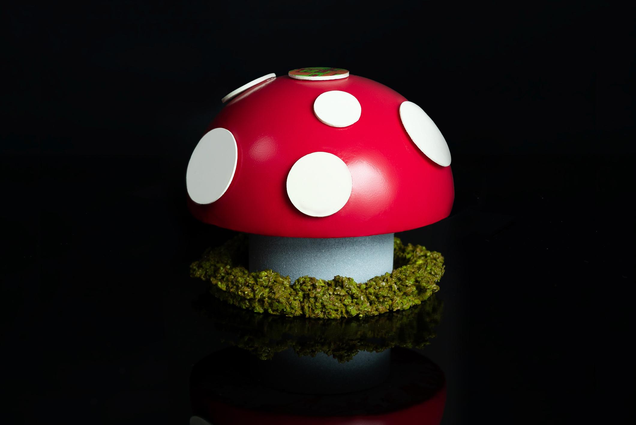 Dr Evil's Magic Mushroom Cake