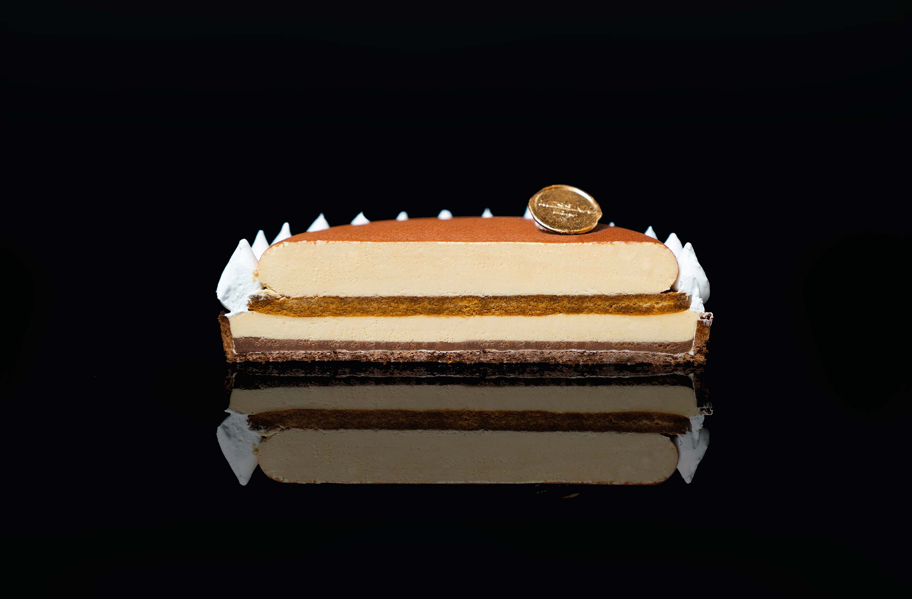 Tiramisu Tart by Gelato Messina